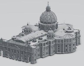 basilica church 3D