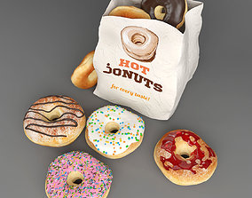 3D donuts collection