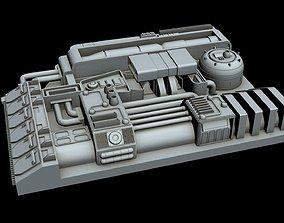 Starship Detail 4 3D
