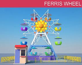 outdoor 3D model Ferris Wheel Kids