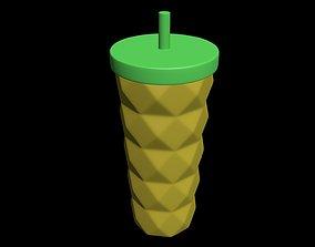 Trinket Coffee cup 3D model jewelry