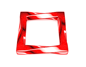3D printable model Twisted Square