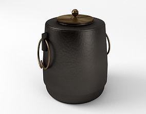 3D Japanese Tea Kettle Chagama For Tea Ceremony teahouse