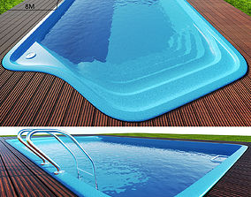 Swimming pool diving 3D
