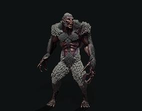 3D model character Werewolf