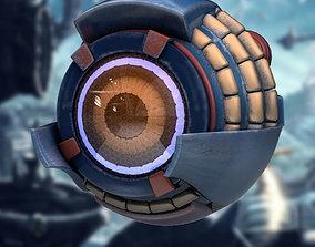 Eyeborg Sci-Fi Robot Game Model