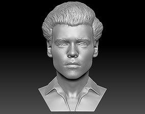 Harry Styles bust 3D printing ready stl obj formats