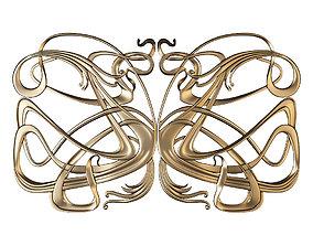 CNC DECOR art nouveau 3D