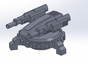 3D printable model LASER DEFENSE AUTOSYSTEM