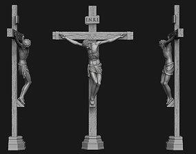 JESUS ON THE CROSS no 2 3D printable model