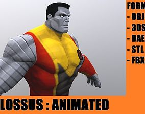 Colossus 3D asset animated