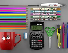 Stationery Products 3D model