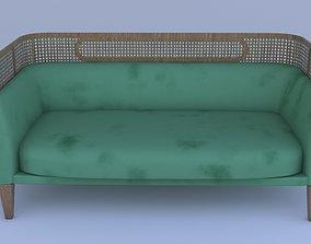 3D asset Kk Sofa 0