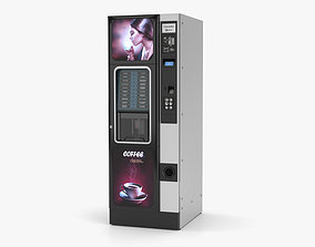 Coffee Vending Machine meal 3D