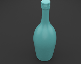 Scanned BOTTLE 3D Print Model