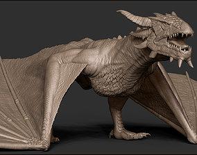 3D Dragon dragon bird