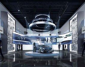 Porsche Motor Show 3D model