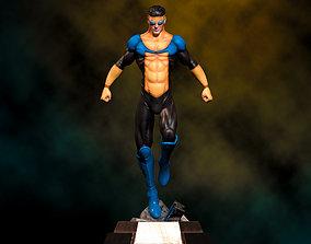 Fanart INVINCIBLE - Statue 3D printable model