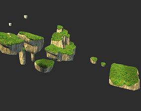 3D asset low-poly islands