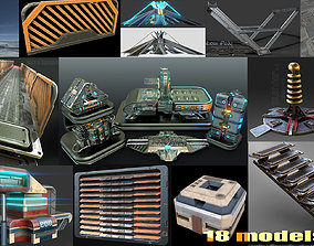 sci-fi collection 3D PBR