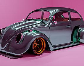 VW Beetles Bosozoku Style 3D