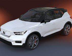 3D model 2020 Volvo XC40 Recharge