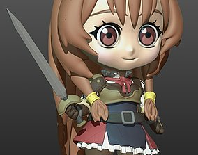 3D printable model Chibi Raphtalia Tate no Yusha no 2