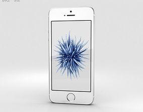 3D Apple iPhone SE Silver