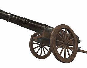 3D model Cannon 4