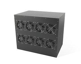 3D GPU Miner box