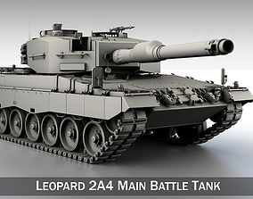 3D Leopard 2A4 Main Battle Tank