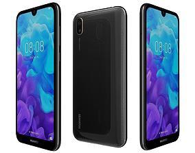 Huawei Y5 2019 Modern Black 3D
