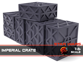 3D printable model Star Wars Imperial Crate 1-6