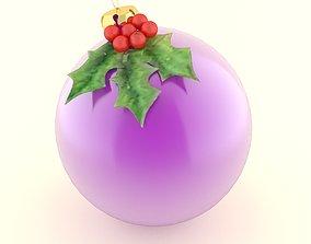cane christmas ball 3D