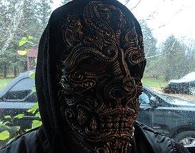 Mask of the warrior 3D print model