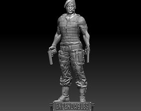 3D printable model The Expendables