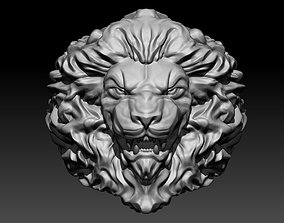 3D printable model Lion Head Ring rings