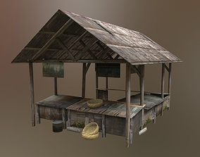 Traditional Market 3D model