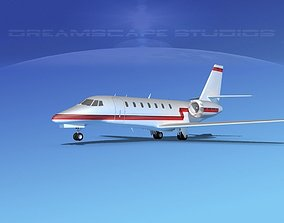 3D Cessna C680 Citation Soveriegn V07