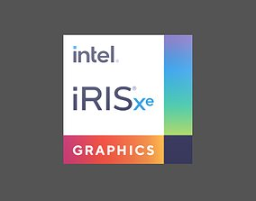 Intel Iris Xe Graphics v1 001 3D model