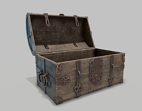 3D model PBR Old Spanish Treasure Chest