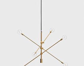 3D model Mobile Chandelier decoration