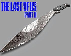 The Last of Us Part II Machete Ellie cosplay 3D