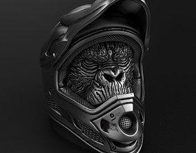 kong Biker monkey vol2 ring jewelry 3D print model