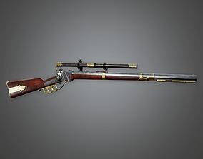 3D model FPS Western Sniper - Brass Knuckle