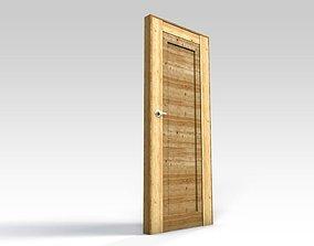 Wooden door 2 3D