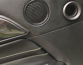 Ford Mustang 2020-2021 Grille Speaker 3D print model