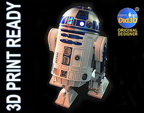 3D printable model R2D2 HQ New hope 1-3 Scale 42cm