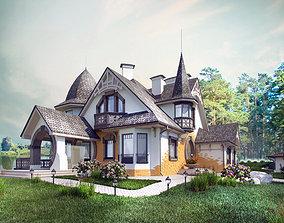 3D model Ar nuvo villa