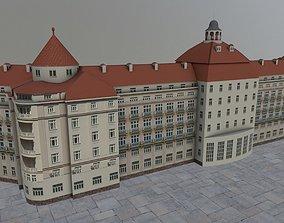 Karlovy Vary Hotel Imperial 3D asset
